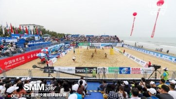 Казахстанский дуэт пробился в плей-офф чемпионата Азии по пляжному волейболу