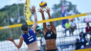 Женская команда из Казахстана по пляжному волейболу не прошла в полуфинал чемпионата Азии