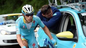 Мигель Анхель Лопес стал восьмым на 4-м этапе «Джиро д`Италия-2019»