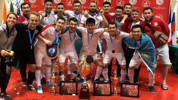 Казахстанцы выиграли аматорский Межконтинентальный кубок