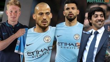 10 топовых игроков, которых привел в «Манчестер Сити» шейх Мансур