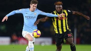«Манчестер Сити» – «Уотфорд» – 6:0. Текстовая трансляция матча