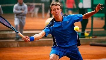 Ломакин уступил в финале  парного разряда на турнире в Анталье