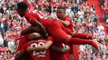 «Бавария» разгромила «Айнтрахт» и стала чемпионом Германии