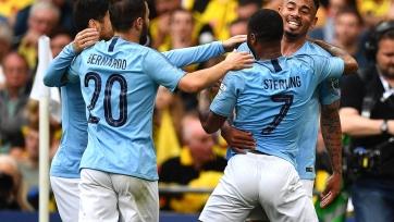 «Манчестер Сити» завоевал третий трофей в сезоне, поиздевавшись над «Уотфордом» в финале Кубка Англии
