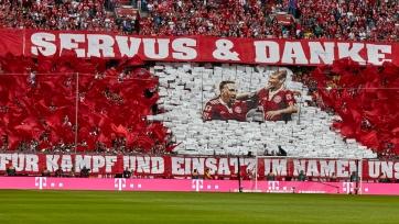 Как «Бавария» с Рибери и Роббеном попрощалась. Фото