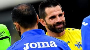 «Кьево» в последнем матче Пеллиссье сыграл вничью с «Сампдорией»