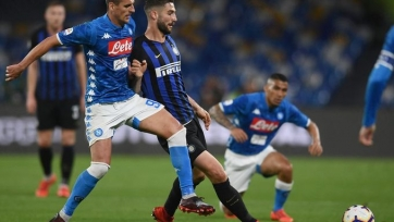 «Интер» потерпел сокрушительное поражение в Неаполе, и уступил третью строчку «Аталанте»