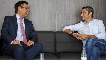 Президент «Барселоны»: «Мы полностью доверяем Вальверде»