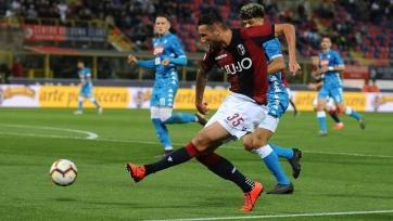 «Болонья» благодаря дублю Сантандера вырвала победу у «Наполи»