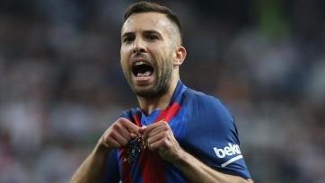 Альба отметил юбилей в рядах «Барселоны»