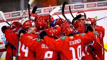 ЧМ по хоккею. Россия выиграла матч за третье место