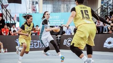Казахстанские команды вошли в топ-4 на Кубке Азии по баскетболу 3х3