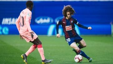 «Эйбар» выкупил защитника «Барселоны»