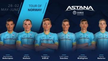 «Астана» огласила состав на «Тур Норвегии»