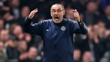 Сарри в гневе покинул тренировку команды в преддверии финала Лиги Европы. Видео