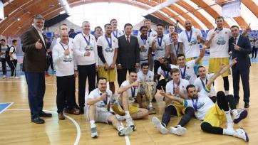 «Астана» вновь выиграла чемпионат Казахстана по баскетболу