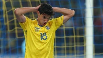 Сборная Украины провела контрольный матч с чемпионом Первой лиги