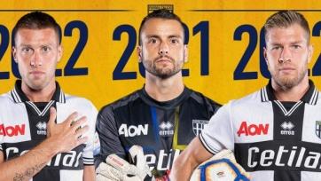 «Парма» переподписала троих футболистов