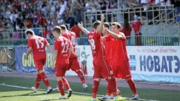 «Уфа» переиграла «Томь» в первом стыковом матче