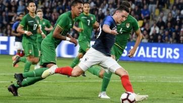 Франция в спарринге обыграла Боливию