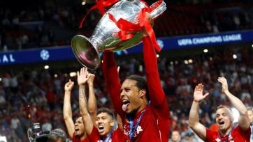 Ван Дейк получил новое признание после финала Лиги чемпионов