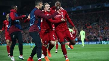 Болельщики «Ливерпуля» поиздевались над фанатами «Барселоны». Видео