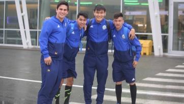 Казахстанская «молодежка» прибыла на Фареры