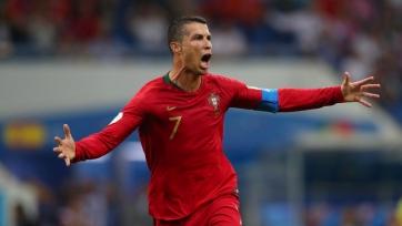 Роналду прервал безголевую серию в сборной Португалии. Видео