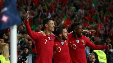 Португалия обыграла швейцарцев в полуфинале Лиги наций