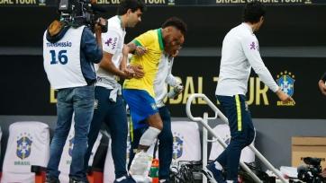 Неймар получил травму в матче за сборную Бразилии