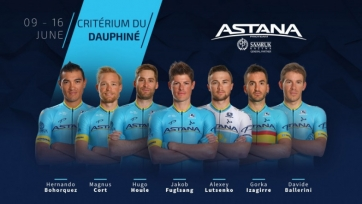 Astana Pro Team назвала состав на престижную гонку во Франции