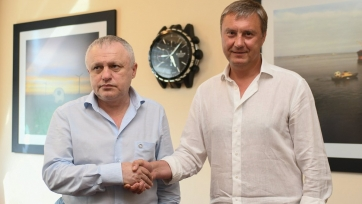 Киевское «Динамо» объявило о продлении контракта с Хацкевичем