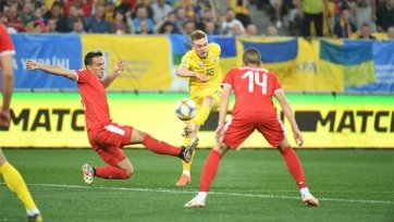 Сборная Украины уничтожила Сербию в матче отбора на Евро-2020