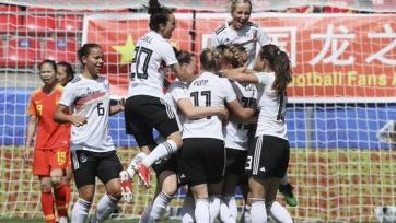 Сборная Германии стартовала с победы на чемпионате мира среди женщин