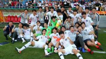 Южная Корея стала последним участником полуфиналов на чемпионате мира U-20