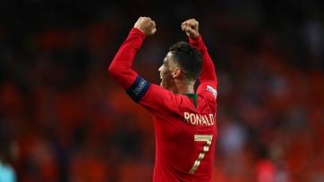 Три гола Роналду признаны самыми красивыми в Лиге наций. Видео