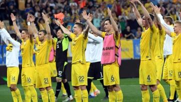 Украина справилась с Люксембургом, Сербия обыграла Литву