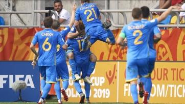 Украина U-20 вышла в финал молодежного чемпионата мира