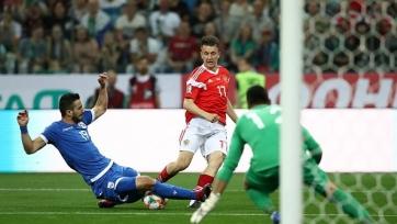 Сборная России минимально обыграла Кипр в отборе на Евро-2020