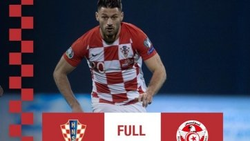 Хорватия в спарринге проиграла Тунису