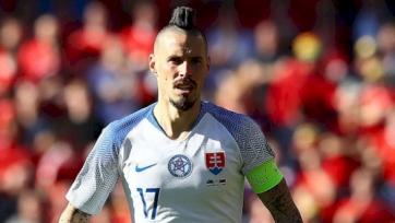 Гамшик стал лучшим бомбардиром в истории сборной Словакии