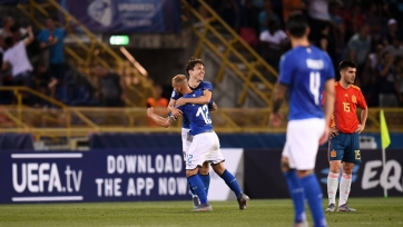 Италия обыграла Испанию на старте молодежного чемпионата Европы