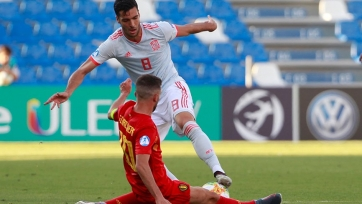 «Молодежка» Испании обыграла бельгийских ровесников