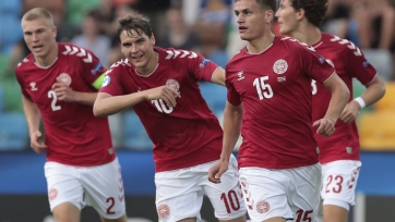 Дания одолела Австрию на молодежном чемпионате Европы
