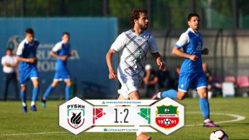 «Рубин» в товарищеском матче уступил «Нефтехимику»