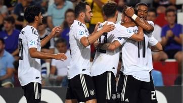Германия разгромила Сербию на молодежном Евро-2019