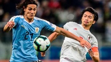 Уругвай не справился с Японией. Видео