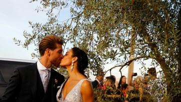 В сеть попало видео невероятной свадьбы Серхио Рамоса и Пилар Рубио