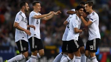 Германия вышла в полуфинал молодежного Евро